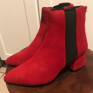 NEW KENNETH COLE REACTION KICK BLOCK BOOTIE SZ 7.5